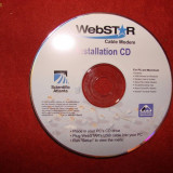 Software, Internet - WEBSTAR CABLE MODEM INSTALLATION CD