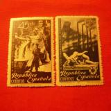 Serie- In Onoarea muncitorilor din Sagunto 1938 Spania, 2 val.