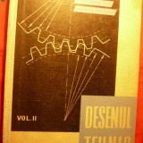 DESENUL TEHNIC -vol II -T.Gaius, D.Ion, N.Gheorghe - 1962 - Carti Constructii