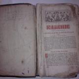 KAZANIE SCRISA IN KIRILICA BUZAU 1834 - Carti Istoria bisericii