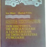 CARTEA TEHNICIANULUI DIN SECTORUL DE MECANIZARE A LUCRARILOR DE INBUNATATIRI FUNCIARE ~ ing. ION MEXI & dr.ing. STEFAN TRIFU - Carti Constructii