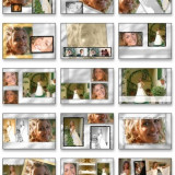 Software Editare video - Album 240 Template -uri PSD ( Nunti / Wedding Template )
