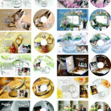 Software Editare video - Album 200 Coperti si Etichete PSD Nunti / Weddings Template