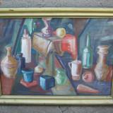 Tablou ulei placaj M. Ciobanu - Pictor roman, Natura statica, Altul