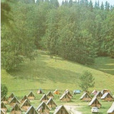 Carti Postale Romania dupa 1918 - CP208-58 Borsec: Camping -carte postala necirculata -starea care se vede
