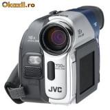 Vand camera Video JVC GR-D72U + acumulator rezerva 1400mAh (afiseaza REMOVE LENS CAP), Mini DV