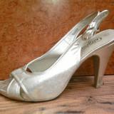 Sandale dama, Marime: 37.5, Aqua - Sandale new-look mar 40