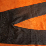 Vand pantaloni de dama marca Gianfranco Ferre - Pantaloni dama, Lungi, Coffee, Bumbac