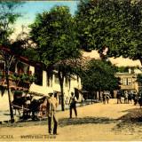 Romania Noua - Turtucaia - Vederea unei Strade - scrisa, animata - 1918