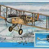 Ilustrata maxima aviatie - avion DE HAVILAND DH-9