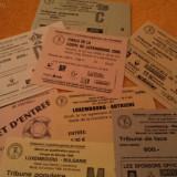Lot bilete meciuri de fotbal (2) - Bilet meci