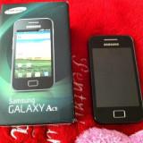 Telefon mobil Samsung Galaxy Ace, Negru, Orange - Samsung Galaxy Ace GT S5830