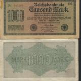 GERMANIA - 1000 MARCI 1922 - CIRCULATA =- COD K013