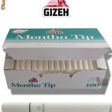 Tuburi Gizeh Silver Tip Menthol 100 - Foite tigari