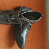 Pantofi dama, Marime: 38, Coffee - Pantofi maro piele mar 41 noi