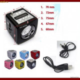 BOXA CU MP3 player Alta si RADIO FM slot usb si Card, AFISAJ LCD ACUMULATOR Nokia Bl5c