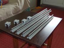 kit CNC ghidaje cu talpa si rulmenti liniari foto
