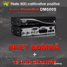 Dreambox DM500S DM 500 DM500 All Black *Super Oferta!! 12Luni Garantie + Sharing 30 zile GRATUITE!!! foto