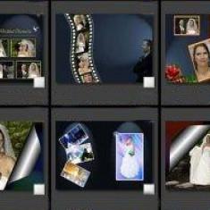Template-uri PSD pentru fotografii de nunti - NOU
