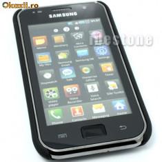 Husa Telefon - Husa protectie samsung galaxy s i9000 silicon rigid antiradiatii+ folie ecran