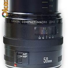 Obiectiv Canon 50 mm f2.5 MC si convertor Canon 50 ef - Obiectiv DSLR, Altul