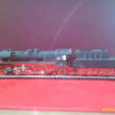 Locomotiva cu abur cu tender model TT tip351111-0 - Macheta Feroviara