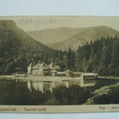 Carti Postale Romania dupa 1918 - Tusnad-bai - Plaja (1931), vedere / ilustrata / carte postala circulata, fara timbru