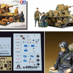+ Macheta 1/35 Tamiya 89783 - L6/60 Italian light tank + - Macheta auto