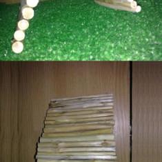 Pod/Casa lemn flexibil Hamsteri / Rozatoare