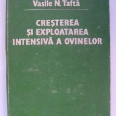 Vasile N. Tafta - Cresterea si exploatarea intensiva a ovinelor (1983)