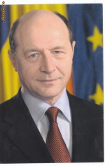 Carti Postale Romania dupa 1918 - Ilustrata Basescu cu semnatura la mesajul din 2007 referitor la referendum