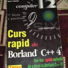 CC3 - CURS RAPID DE BORLAND C++ 4 - Carte Limbaje de programare