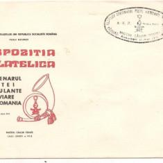 Plic omagial -CENTENARUL POSTEI AMBULANTEI FEROVIARE DIN ROMANIA