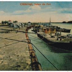 2117 - CALARASI - Nave ancorate in port - old postcard - used