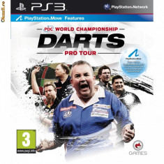 Jocuri PS3, Actiune, 3+ - PDC World Championship Darts: ProTour - Move Compatible SIGILAT PS3 (ALVio) + sute de jocuri originale