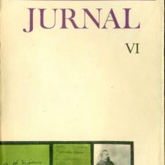 Jurnal si Epistolar - Vol. VI (8/20 noiemvrie 1866 - 17 april 1870) - Titu Maiorescu - Carte Editie princeps
