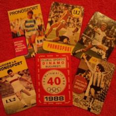 Set calendare buzunar - fotbal - Calendar colectie