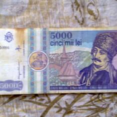 Bancnote vechi 5 000 - 10 000 - 1 000 lei