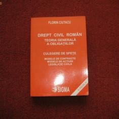 Florin Ciutacu - Drept civil roman - Teoria generala a obligatiilor, Culegere de spete - Carte Drept civil
