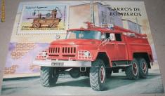 Timbre straine - SAHARA 1998 - COLITA MASINI POMPIERI - NEUZATA