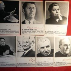 7 Fotografii cu Celebritati cu Autograf - din URSS