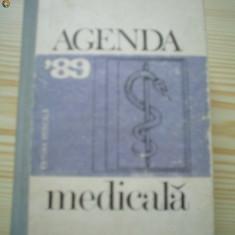 Agenda medicala 89 medicina