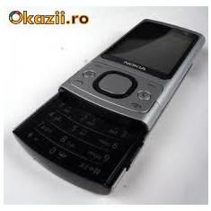 Nokia 6700s carcasa aluminiu - Telefon mobil Nokia 6700 Slide, Argintiu, Neblocat