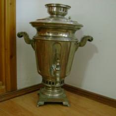 SAMOVAR ARGINTAT - A MOROZOV - 1873 - Metal/Fonta