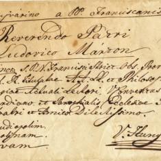 PLIC PREFILATELICA 1847