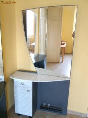 Mobila frizerie (coafor) cu oglinda, din Italia