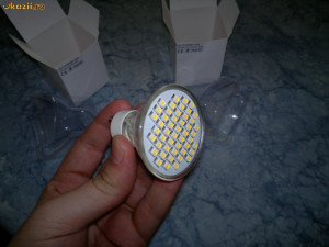 Becuri LED SPOT 48 SMD GU10 3.5 W reglabile(dimmable) 230 v foto