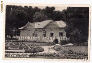Baile Felix - Cafeneaua, ilustrata circulata 1942 foto