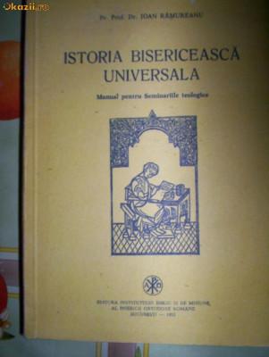 Istoria bisericeasca universala-IOAN RAMUREANU foto