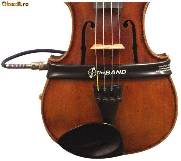 Microfon Vioara Pickup Doza pentru vioara foto mare